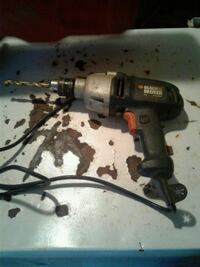 black and gray corded power drill Washington