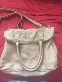 women's gray leather shoulder bag Surrey
