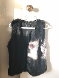 Black Faux Fur Vest London, N6J 3R7