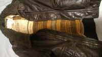 Hollister Wool leather jacket S Toronto, M9A