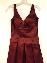 Women's brown sleeveless cocktail dress Hollywood, 33021