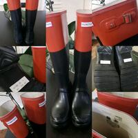 Like NEW Tall Classic Hunter Boots Langley, V2Y