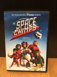 Space Chimps DVD-sak