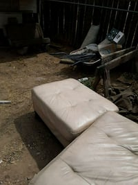 white and black fabric sofa Bakersfield, 93308