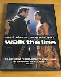 Walk the line dvd Chaska, 55318