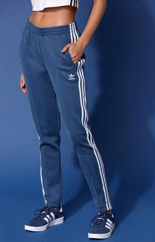 NEW WT 2 PAIRS WOMENS ADIDAS SST TRACK PANTS 68a78071-7449-47a0-b55d-25e4add94ea8
