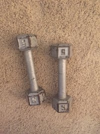 5 pound dumbbells Airdrie, T4A 0A4
