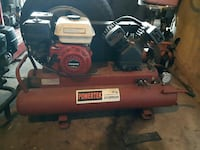 red Powertek air compressor Aylmer, N5H 2M3