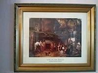 brown wooden framed painting of people Arcadia, 34269