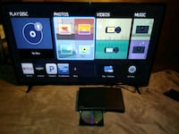 43 in Vizio model E 1080 p HD smart TV and HD Blue Ray player + remote Washougal, 98671