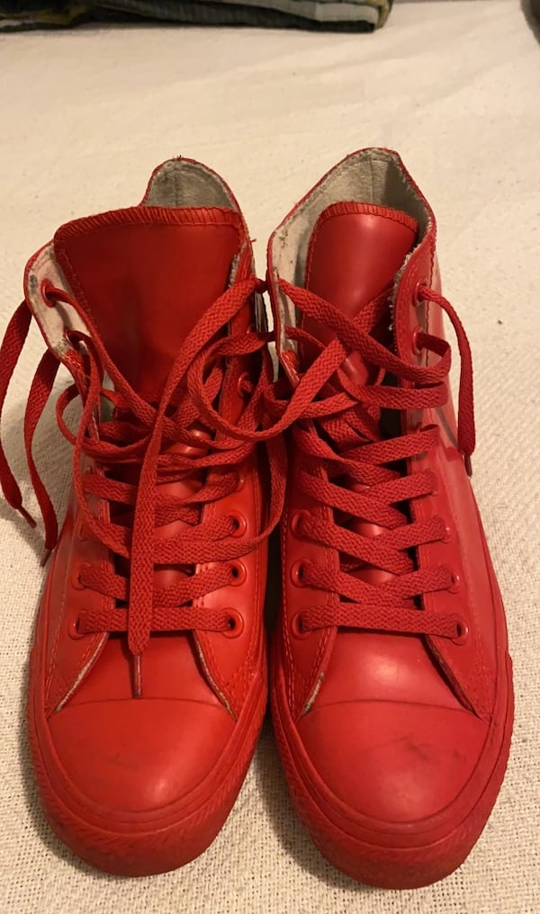 Used Red Converse For Sale In New York Letgo