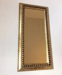 Brand New Custom GRECIAN Frame Narrow Mirror Total Frame Measures Approx: 23.5 inches x 12 inches Toronto