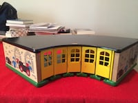 white and green wooden house toy Burke, 22015
