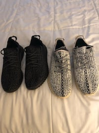 Addidas Yezzy 350 boosts men 9.5 only used a few times in good condition $200 for both  Newark, 07105