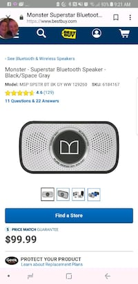black and gray portable speaker screenshot Victoria, V8Z 4W6