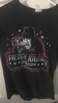 black and multicolored Freddy Krueger 3D t-shirt Springettsbury, 17406