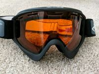 Bolle Ski Snowboard Black Goggles with Orange Lens Alexandria, 22303