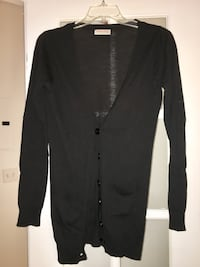 Buffalo Black Long Cardigan (Size M) Ottawa, K1R