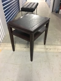 rectangular black wooden side table Toronto, M2R 3T7
