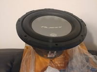 Brand New Car Audio 10 inch Duel Voice Coil Sub Woofers 800 Watts Of Power Charlotte