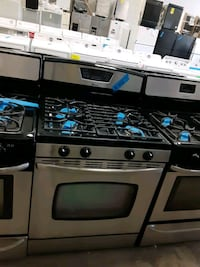 Amana gas stove working perfectly