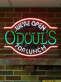were open o'doul's for lunch led signage 419 mi