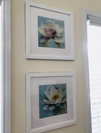 white and brown flowers painting Celebration, 34747