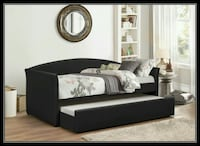 Daybed black with free mattress and delivery Temple Hills