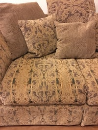 Love Seat with Pillows Orinda