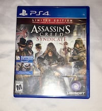 Assassin's Creed Syndicate PS4 game case Las Vegas, 89148