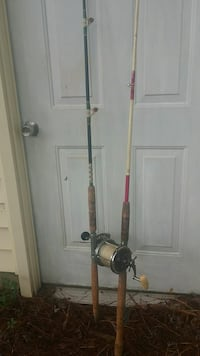gray and black fishing rod Portsmouth, 23703