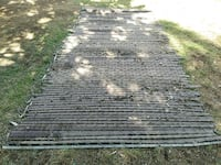 About 50 ft of Chain link fence with prvacy slats. Bend, 97702