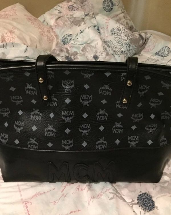 5a29db9a60fb Used Black monogrammed louis vuitton leather handbag for sale in ...
