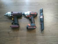 Air wrench and 2 drills Morningside, 20746