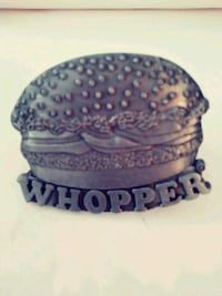 Vintage Whopper Belt Buckle 2388 mi