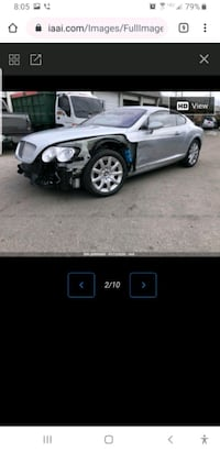 2005 Bentley Continental GT Base