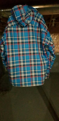 blue and red plaid sport shirt Brampton, L6X 0J1