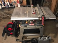 Craftsman 10'' Table Saw with Lazer Trac