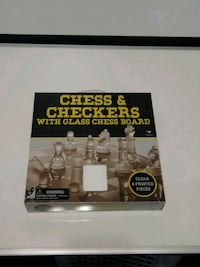 Chess and Checkers Glass Set San Antonio, 78247