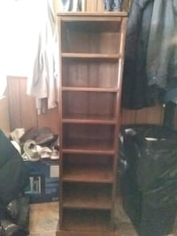 Hand crafted wood movie or book shelf Fort Wayne, 46818