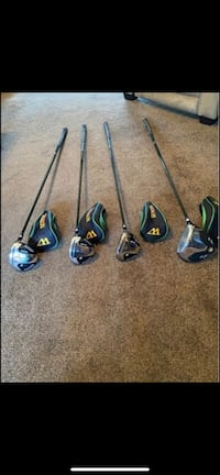 Warrior golf clubs