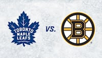TORONTO MAPLE LEAFS VS BOSTON BRUINS 2 TICKETS FOR GAME 4 GREEN SECTION 323 $700 OBO
