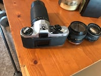 Vintage Pentax camera with 3 different lenses High Point, 27282