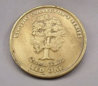 round gold-colored coin Obetz, 43207