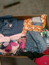 Girls clothes, various sizes
