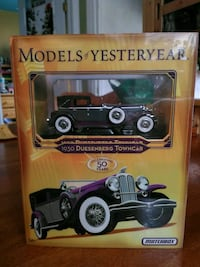1930 Matchbox purple Deusenberg Towncar die-cast s Vaughan, L4L 1N2