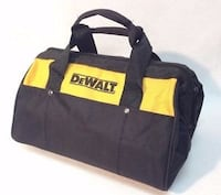 black and yellow DeWalt duffel bag null, L2H 0E4