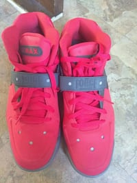 pair of red Nike Air Force 1 low shoes Columbus, 43229