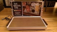 Black and Grey Hot Electric Tray- BNIB Toronto, M4R 1X6