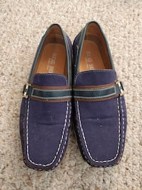 Ducati blue suede loafers Mississauga, L5J 4M9